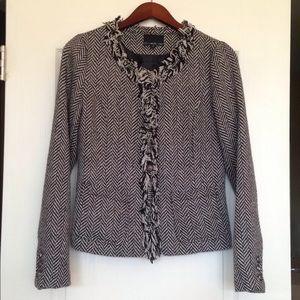 Cynthia Rowley Herringbone Jacket. EUC. Size small
